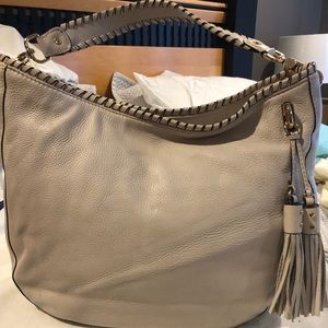 Michael kors off white hobo handbag